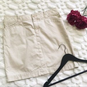 Lilly Pulitzer Khaki Mini Skirt